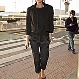 Photos of Victoria Beckham at London Hotel and Heathrow 2009-11-19 08:33:24