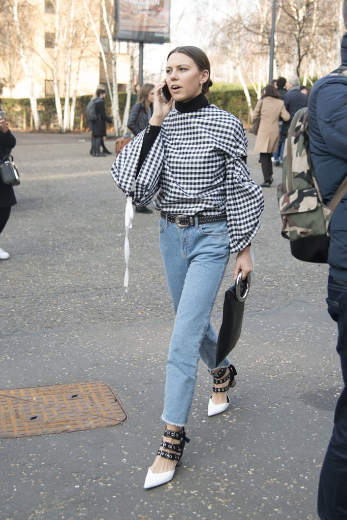 With a touch of gingham