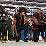 Colin Kaepernick Taking a Knee