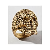 Pirates of the Carribean Jack Sparrow Skull Ring