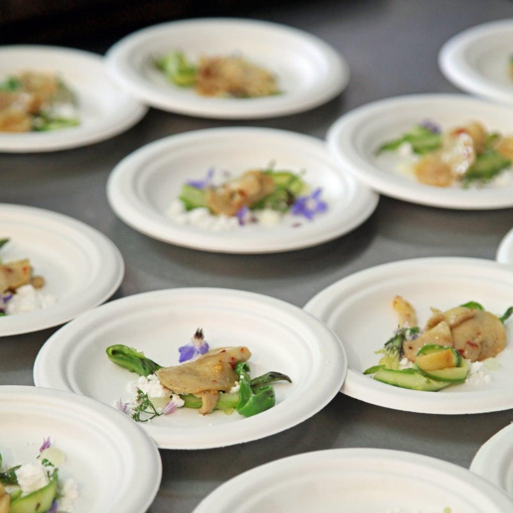 Abalone With Bone Marrow and Asparagus
