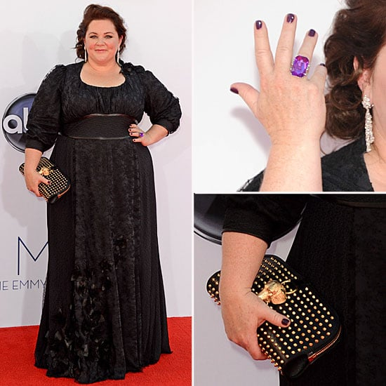 Melissa McCarthy at the Emmys 2012 POPSUGAR Fashion