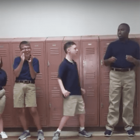 Video of Students With Special Needs Dancing