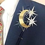 Celestial Wedding Buttonhole