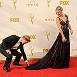 When Derek Helped Julianne With Her Dress Like a True Gentleman