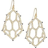 Alexis Bittar Elements Spiked Crystal Honeycomb Drop Earrings