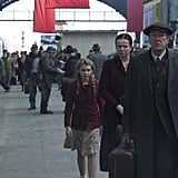 The Book Thief  What it's about: A married couple (Geoffrey Rush and Emily Watson) take in a young girl in this drama set in Nazi Germany. The man teaches her to read and write, but their bonding is interrupted by the threat of war. Why we're interested: Markus Zusak's novel is a classic, and I'm always interested to see books adapted for the big screen, even ones that will most definitely make me sob. When it opens: Nov. 15 Watch the trailer for The Book Thief.