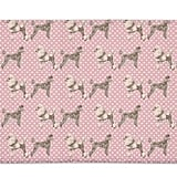Uneekee Poodles With Heart Bath Mat ($38)
