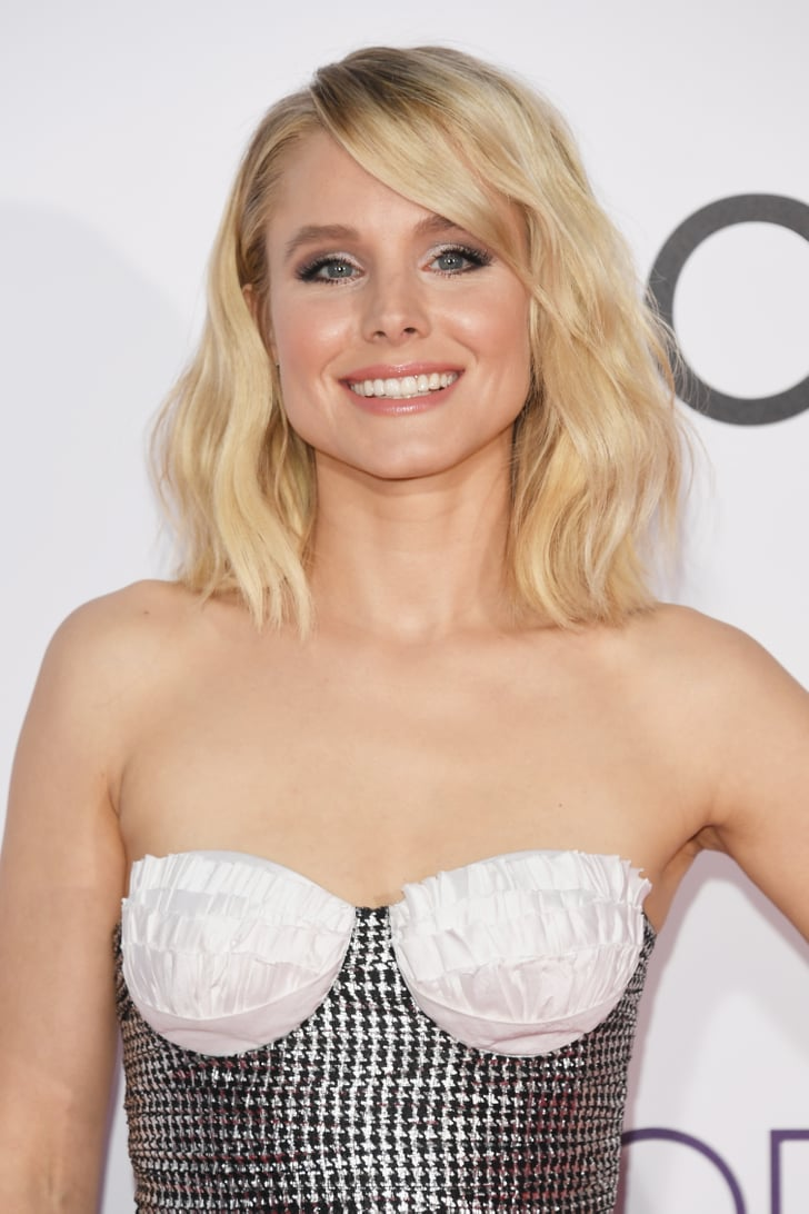 Kristen Bell | Hair and Makeup at People's Choice Awards ...