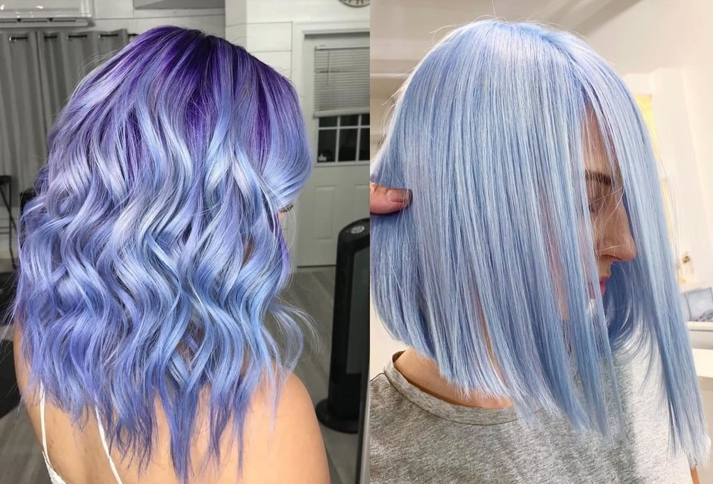 Periwinkle Hair Color Trend