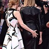 Leslie Mann Grabbing Cameron Diaz's Butt