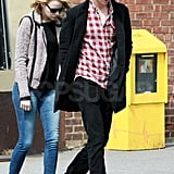 Emma Hangs With Andrew While She's Considering a Fairy-Tale Role