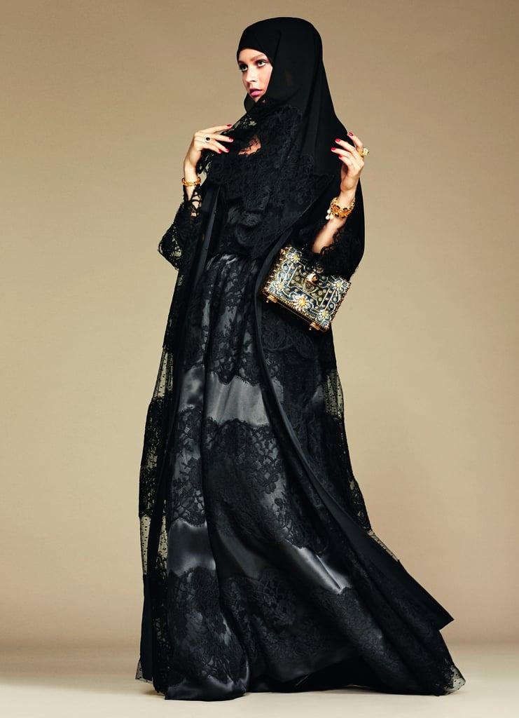 8827e0316a41 Dolce   Gabbana s Hijab and Abaya Collection