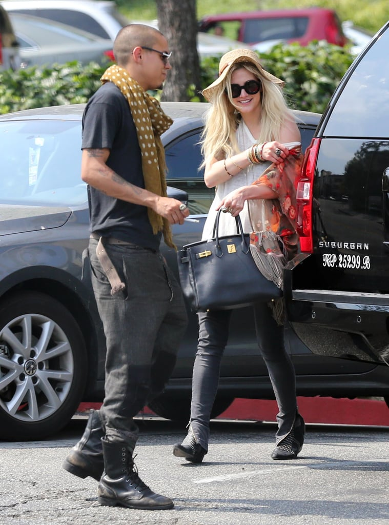 "Yesterday, Ashlee Simpson grabbed lunch in West Hollywood with Evan Ross, Diana Ross's 24-year-old son, stirring up speculation that the two are dating. However, Us Weekly reports that Ashlee and Evan are just pals, with a source telling the magazine, ""Evan and Ashlee have been friends for a really long time, probably ten years. They know each other from the club scene and have tons of mutual friends."" This isn't the first time that Evan has been linked to his famous female friends. Back in January, there were reports that he was dating Rita Ora, a claim that he denied on Twitter, saying, ""These blogs aren't true. Me and Rita Ora aren't dating and we weren't making out. We are just friends."" Neither Ashlee nor Evan has publicly commented on their dating rumors, but Ashlee may be a bit busy these days as her sister, Jessica Simpson, welcomed her son, Ace, on Sunday."