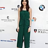 Gemma Chan at the Sentebale Royal Salute Polo Cup