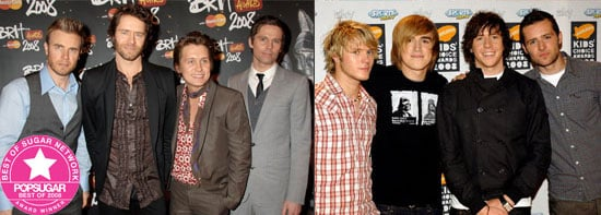 Best of 2008: Take That are PopSugarUK's Favourite British Pop Group, McFly Win Readers' Poll