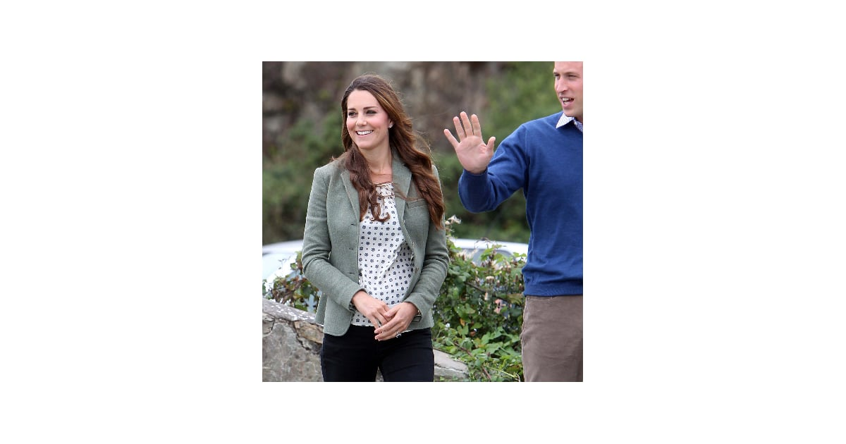 kate middleton first postbaby appearance outfit