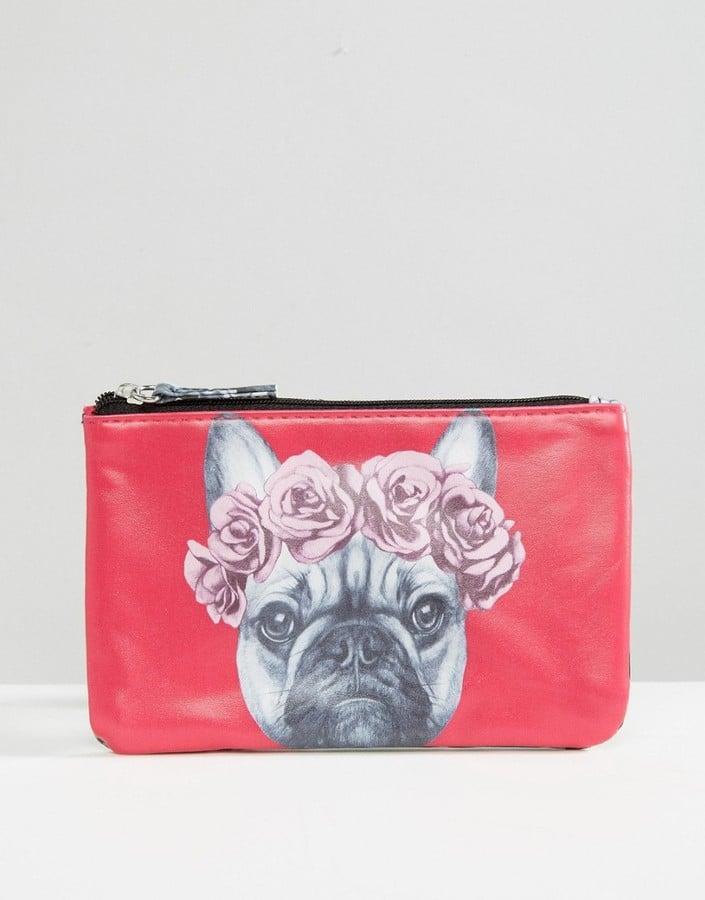 Beauty Extras French Bulldog Makeup Bag ($9)