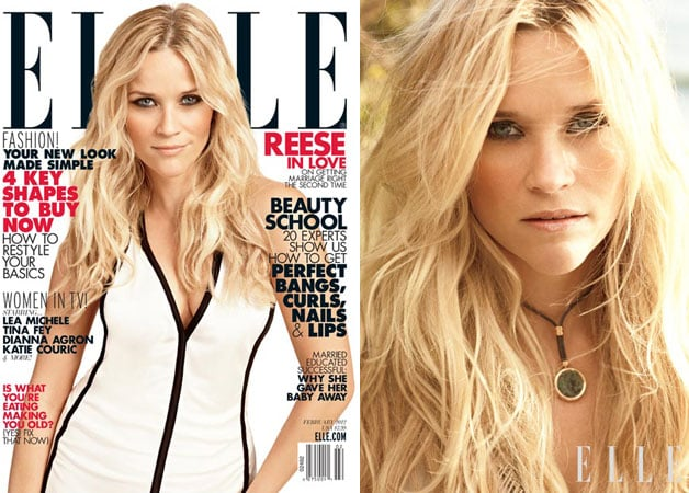 Reese Witherspoon Elle Magazine 2012