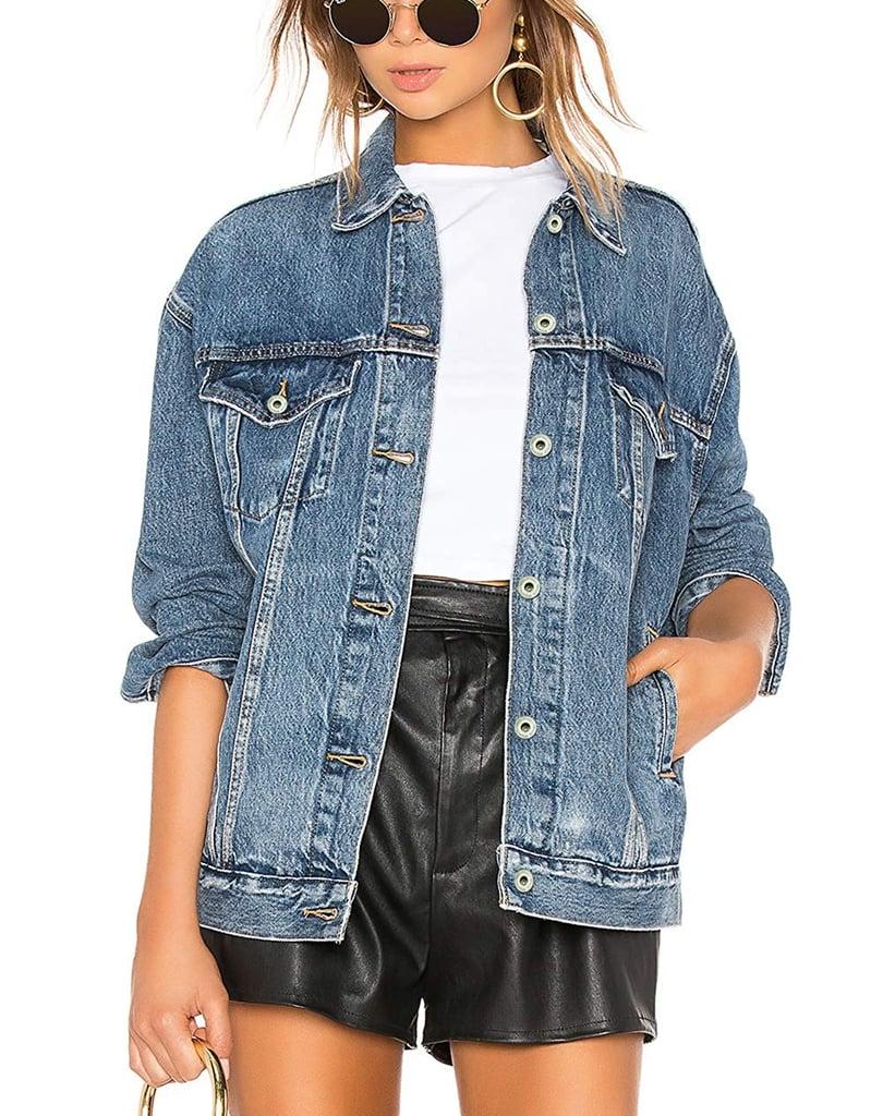 Tsher Oversize Denim Jacket