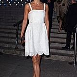 Helena Christensen's LWD is the kind every girl should have in her arsenal come summertime.