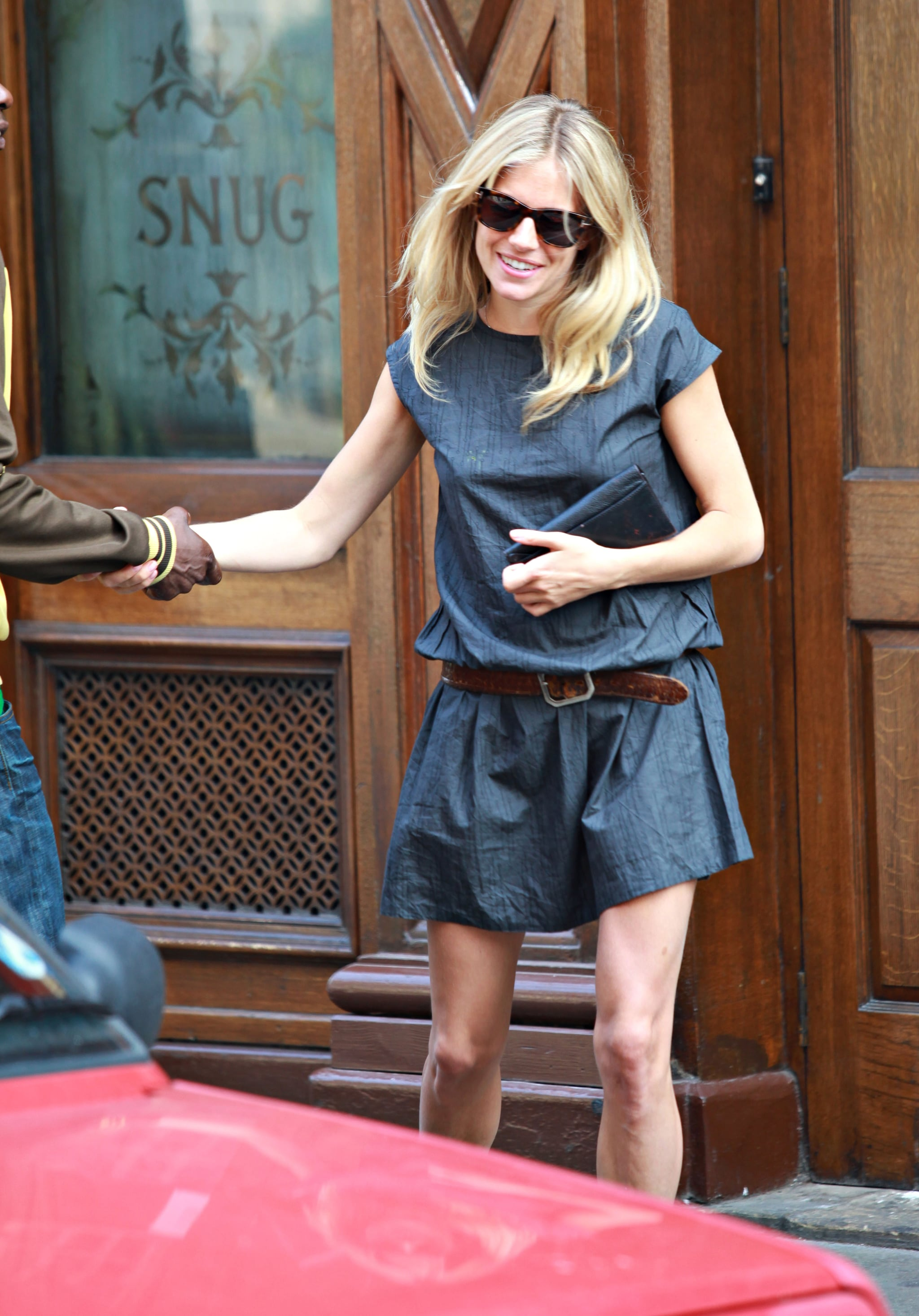 Big O Auto >> Photos of Sienna Miller Out in London at the Groucho Club | POPSUGAR Celebrity
