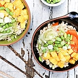 Mango Sushi Bowls With Quick-Pickled Veggies
