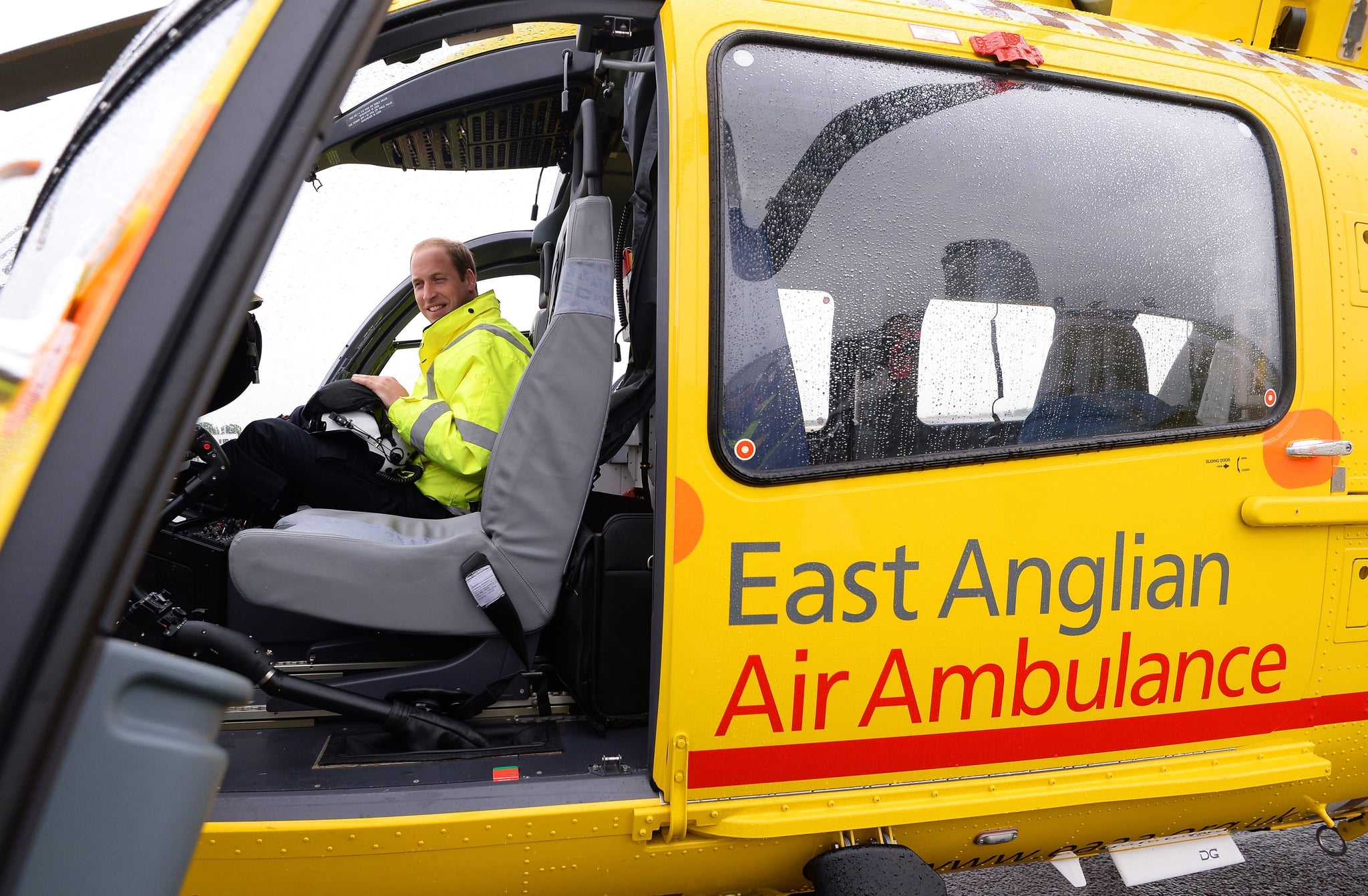 prince william s essay about east anglian air ambulance popsugar
