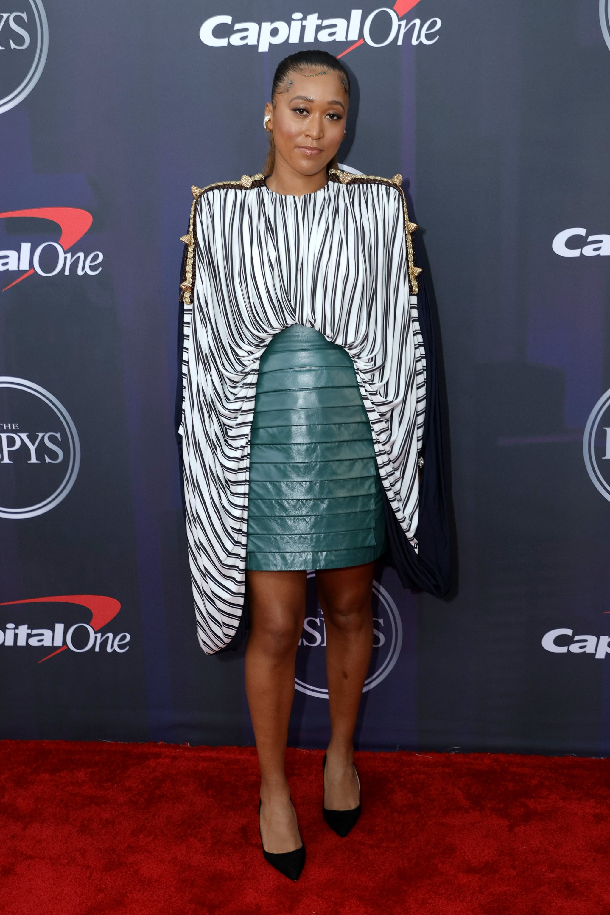 NEW YORK, NEW YORK - JULY 10: Naomi Osaka attends the 2021 ESPY Awards at Rooftop At Pier 17 on July 10, 2021 in New York City. (Photo by Michael Loccisano/Getty Images)