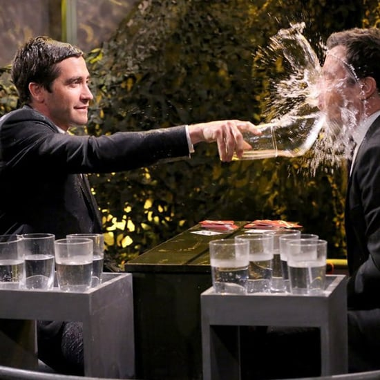 Jake Gyllenhaal Plays Water War With Jimmy Fallon
