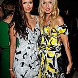 Rachel Zoe and Nina Dobrev both looked stylish at Glamour magazine's book party.