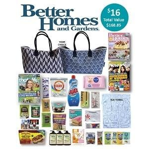 Better Homes and Gardens Showbag 16 Includes Tote bag Assorted