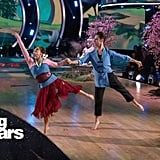 Mary Lou Retton and Sasha Farber's Performance