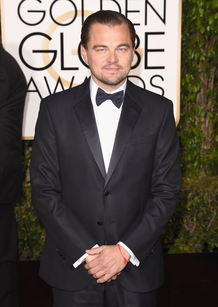 Leonardo DiCaprio at 2016 Golden Globe Awards