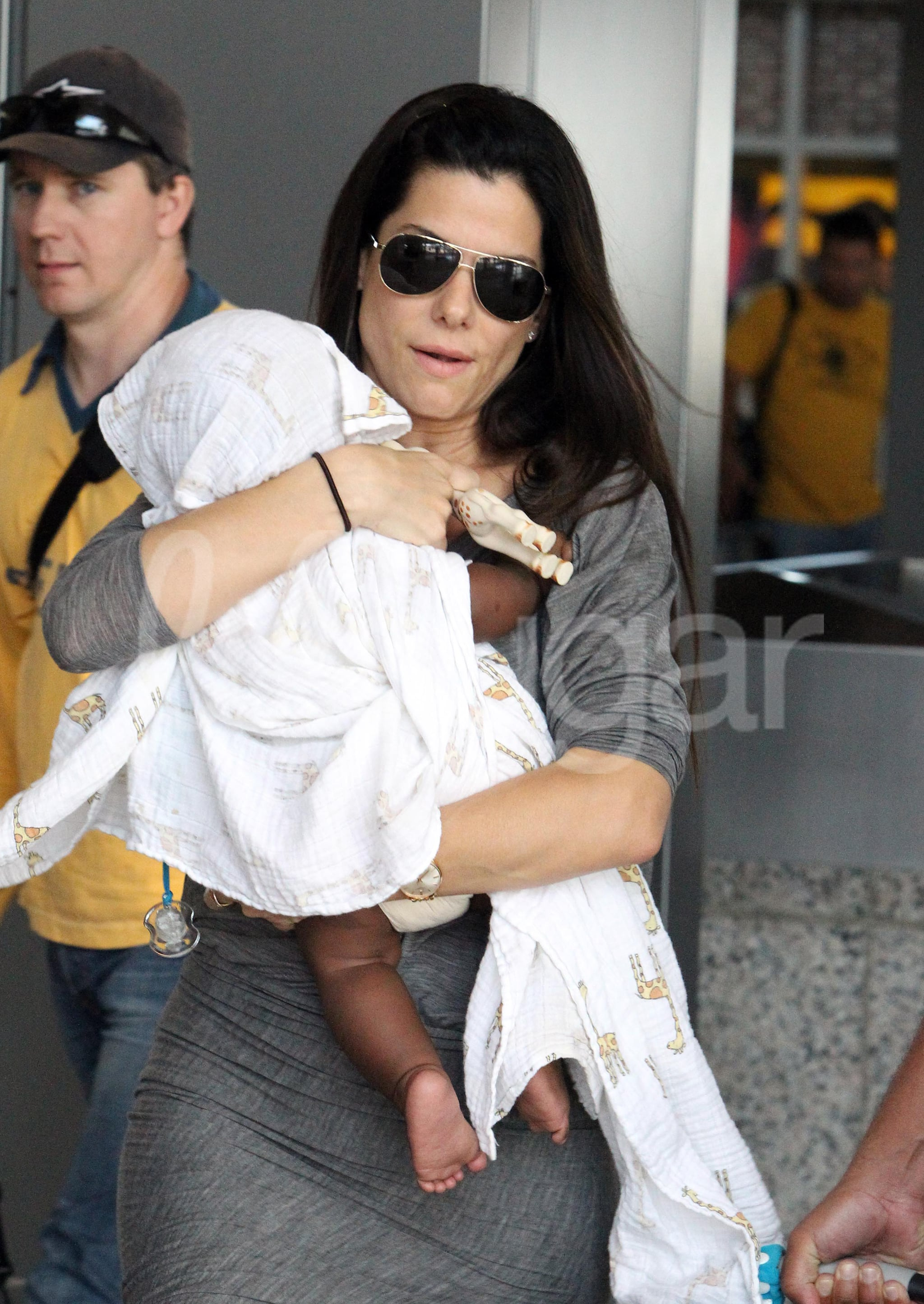 Pictures Of Sandra Bullock And Louis Bullock Popsugar Moms