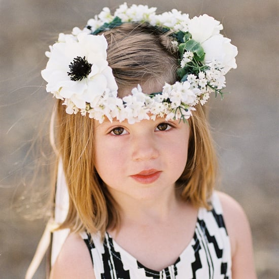 Wedding Flower Crown Ideas For Flower Girls