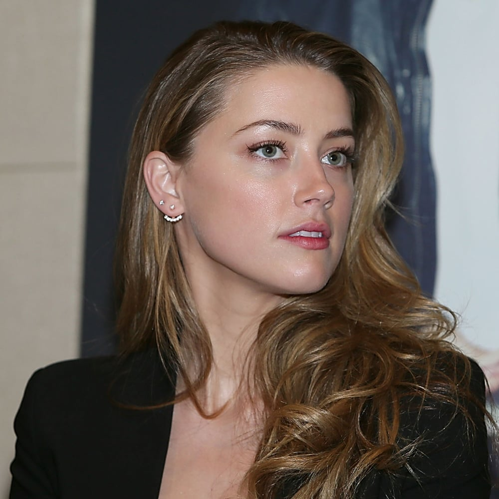 Amber heard with pink hair pictures popsugar celebrity sciox Image collections