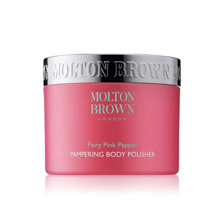 Molton Brown Fiery Pink Pepper Body Polish, $70