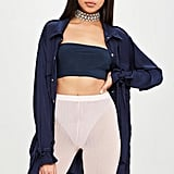 Carli Bybel x Missguided Pink Diamante Embellished Cycling Shorts