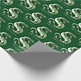 Harry Potter Slytherin Snake Wrapping Paper