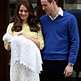 This time around, instead of spending the night at St. Mary's or speaking to the waiting press, Kate and William headed home 10 hours after Charlotte's birth.