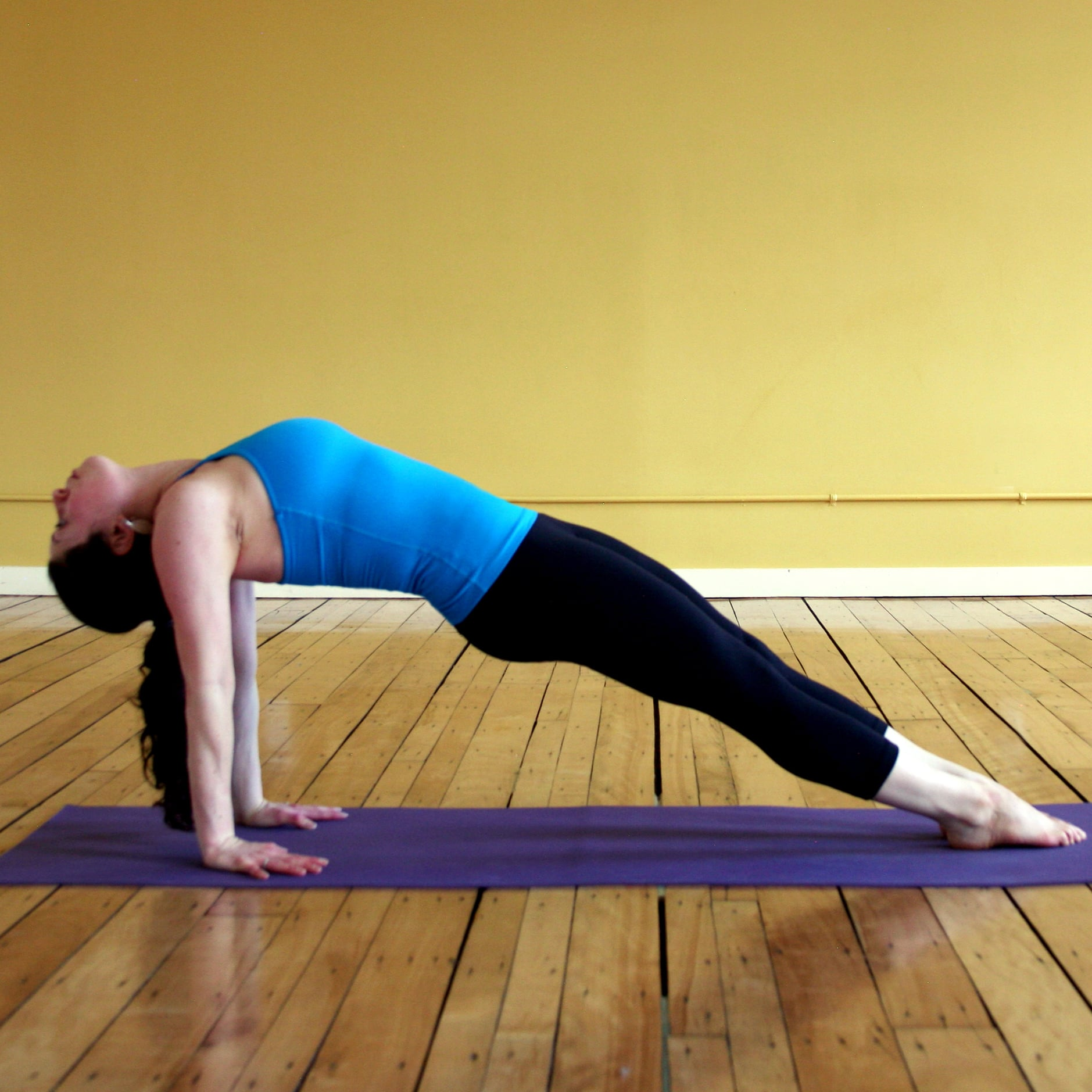 Yoga For Outer Thighs   POPSUGAR Fitness
