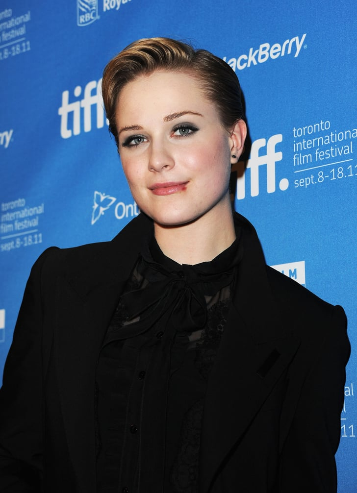 Evan Rachel Wood at The Ides of March press conference in ...
