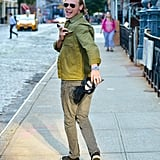 Sam Heughan Out in NYC July 2016
