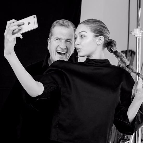 Gigi Hadid Talking About Modeling on Jimmy Kimmel Nov. 2016