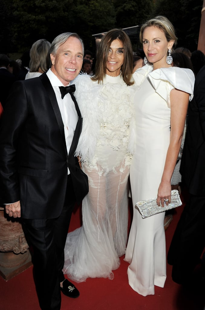 Tommy Hilfiger, Carine Roitfeld in Givenchy couture, Dee Ocleppo