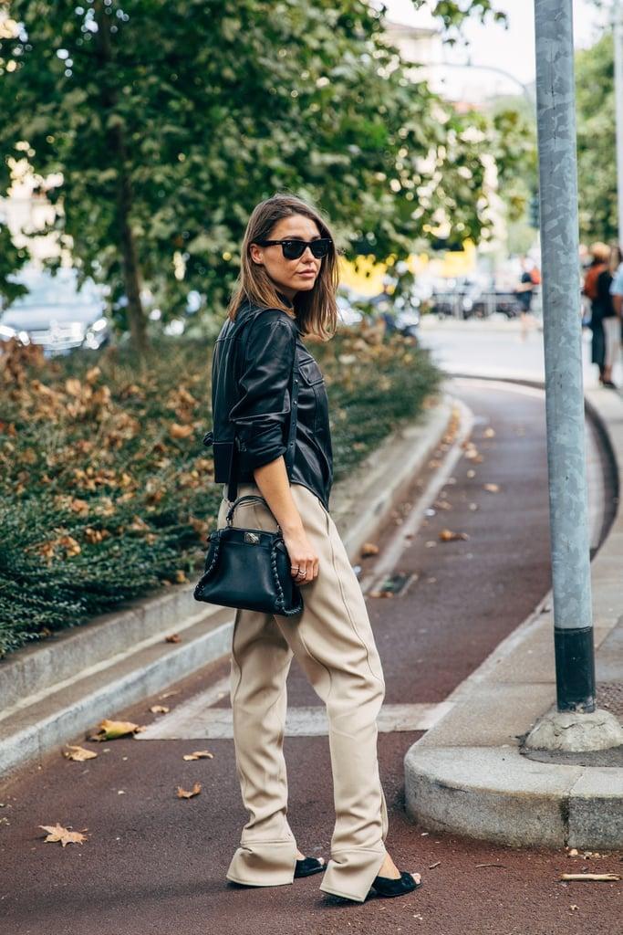 Fall Pants Trend 2019: Split Ultra-Flare Pants