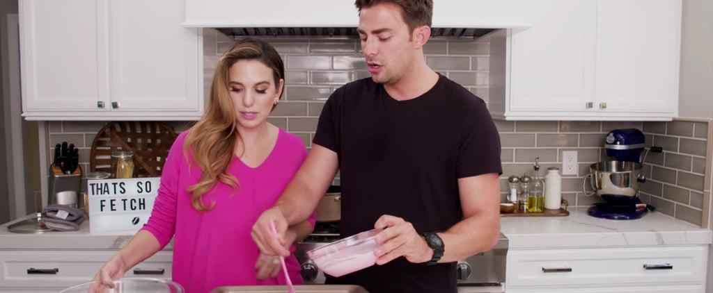 Watch Jonathan Bennett Make Plastic Pink Mean Girls Popcorn