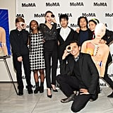 Angelina Jolie and Her Kids at MoMA's Fortnight NYC Opening