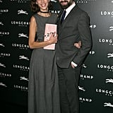 Alexa Chung and Jack Guinness feted the Longchamp Christmas lights switch-on in Paris.